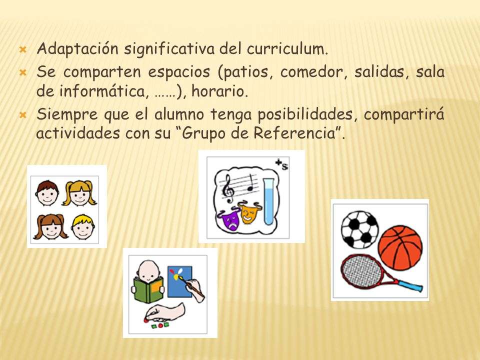 Adaptación significativa del curriculum.