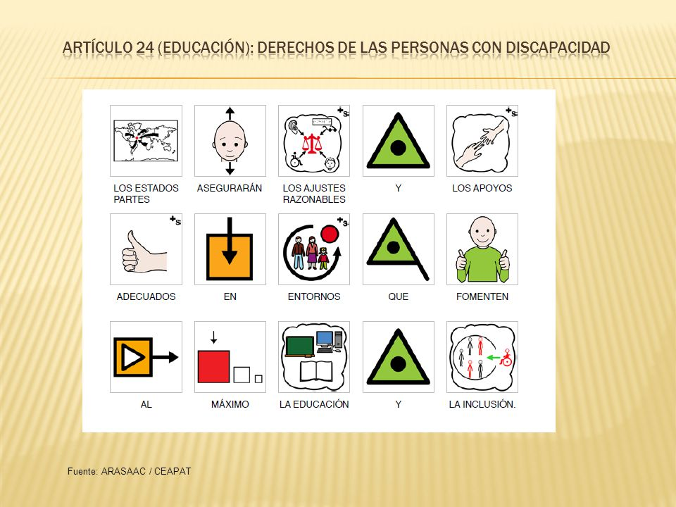 ARTÍCULO 24 (EDUCACIÓN): DERECHOS DE LAS PERSONAS CON DISCapacidad