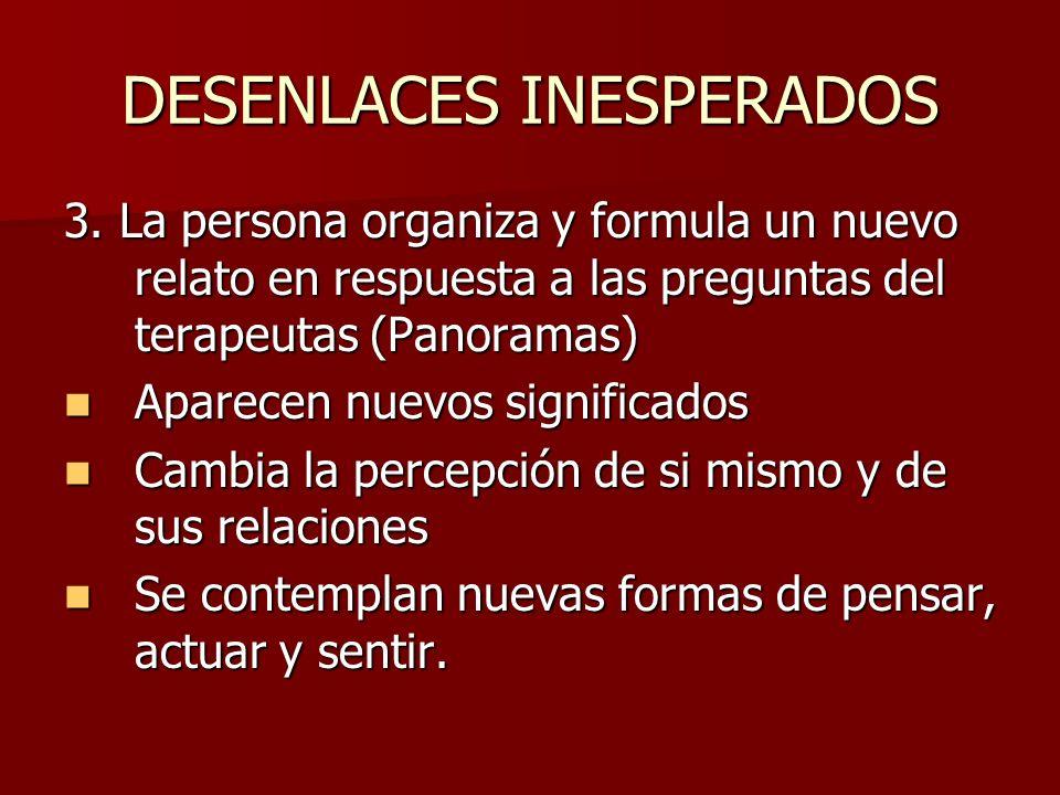 DESENLACES INESPERADOS