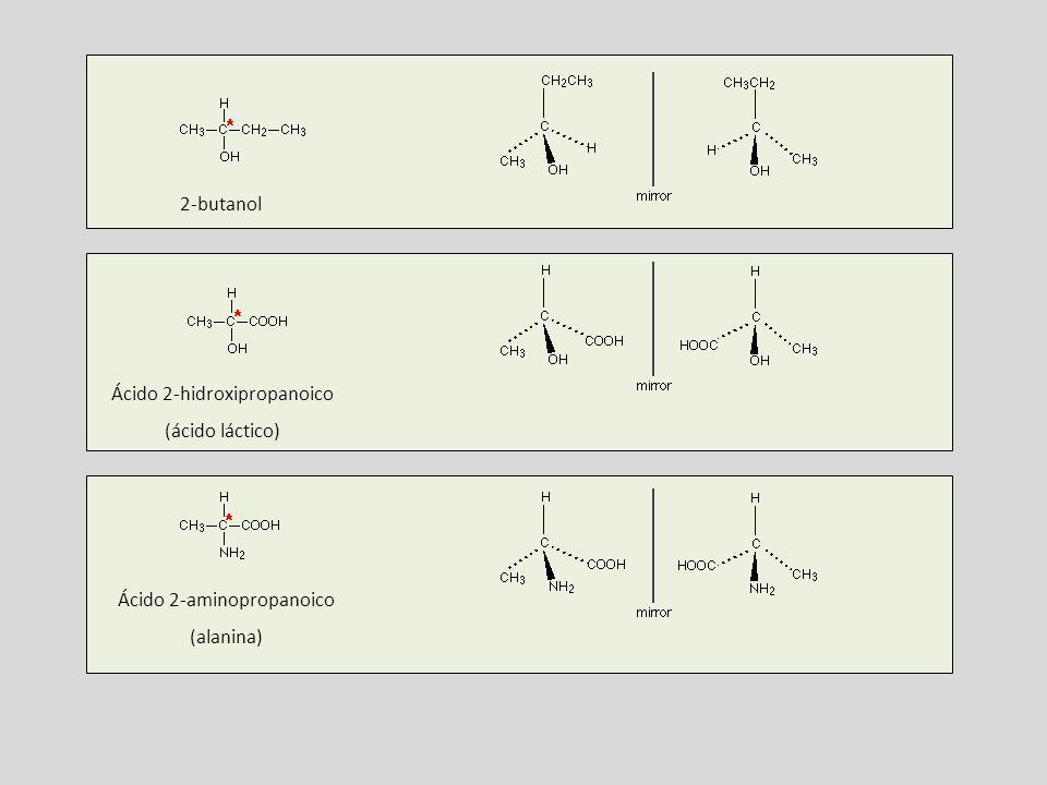 Ácido 2-hidroxipropanoico (ácido láctico)