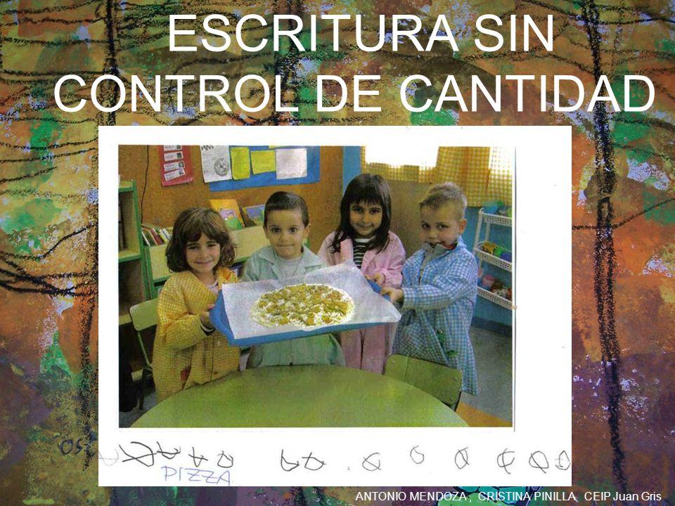 ESCRITURA SIN CONTROL DE CANTIDAD