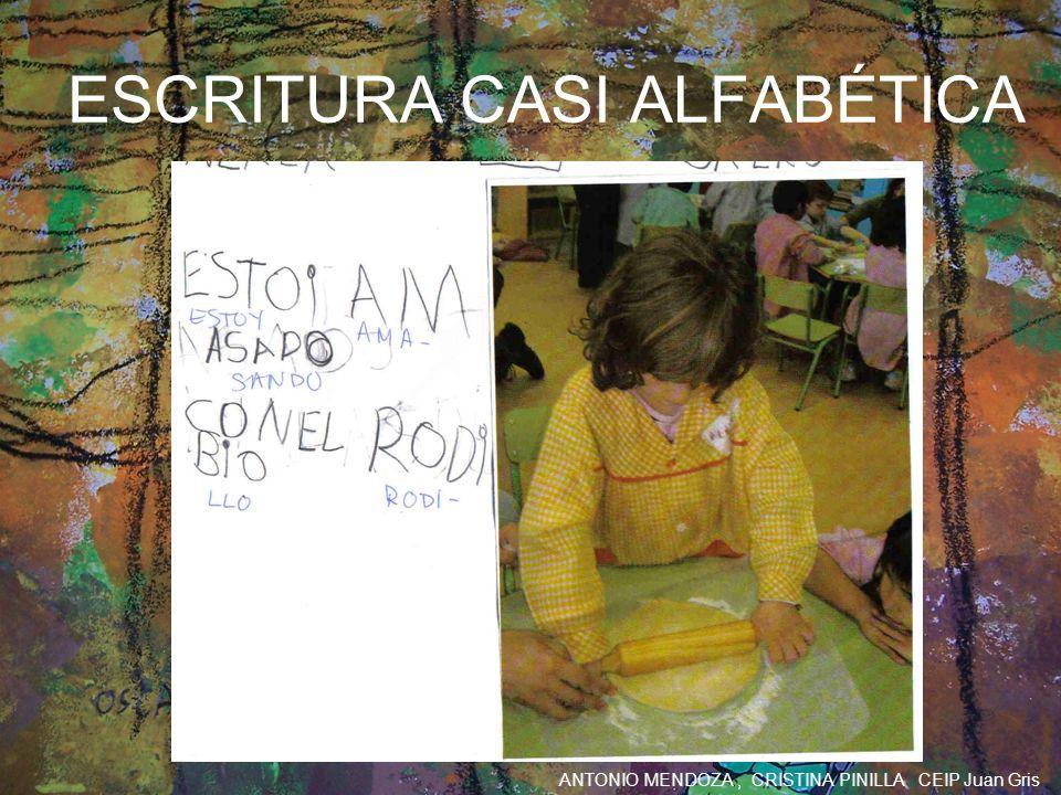 ESCRITURA CASI ALFABÉTICA