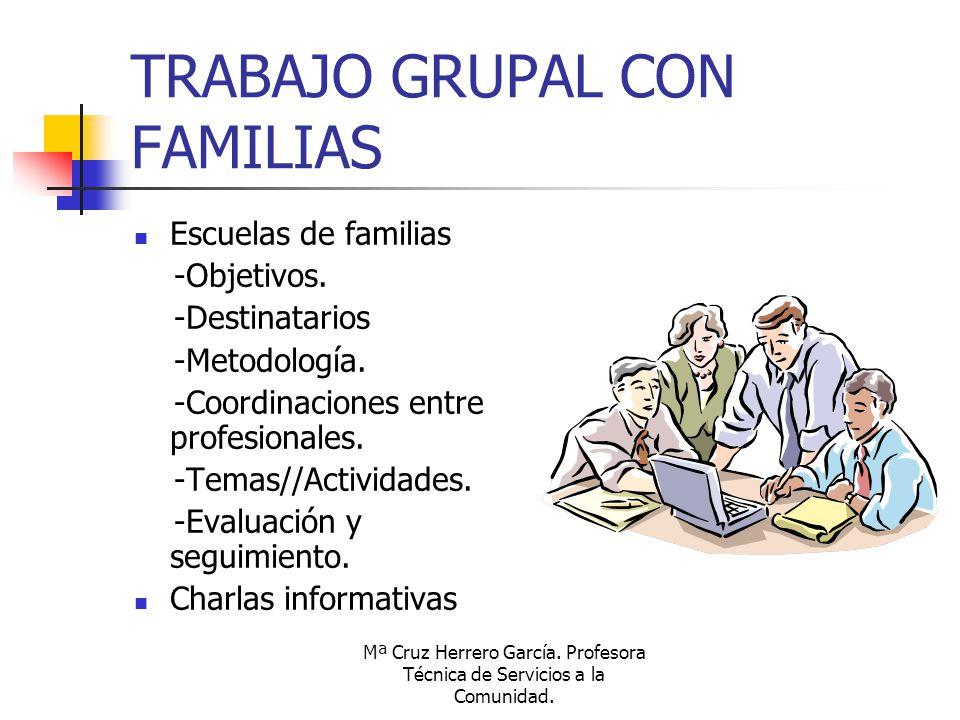 TRABAJO GRUPAL CON FAMILIAS