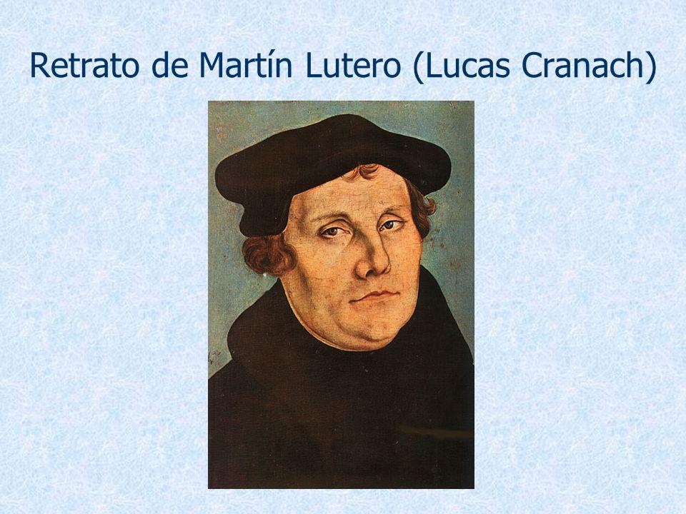 Retrato de Martín Lutero (Lucas Cranach)