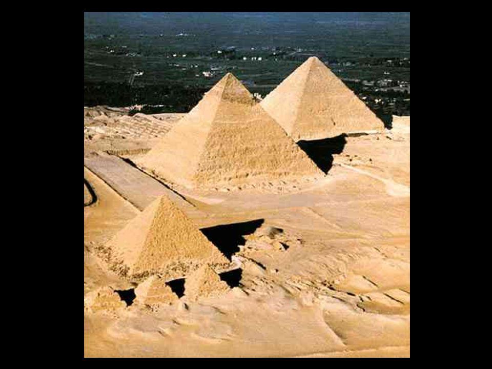 Pirámides de Gizeh. IV dinastía. Keops, Kefren, MiKerinos
