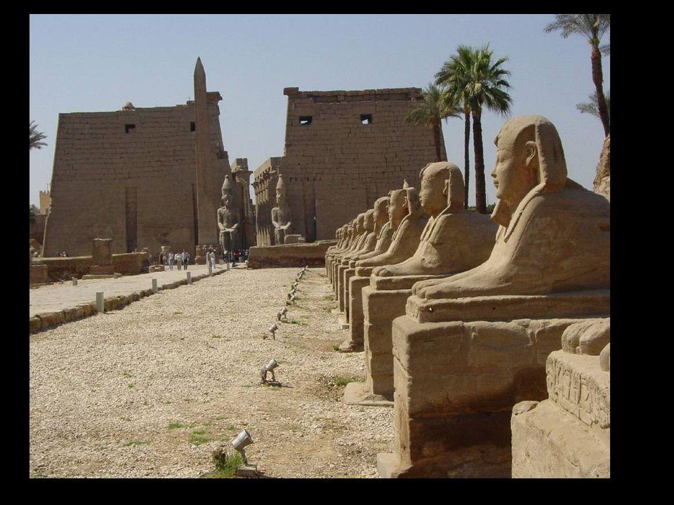 Templo de Amón-Ra en Luxor