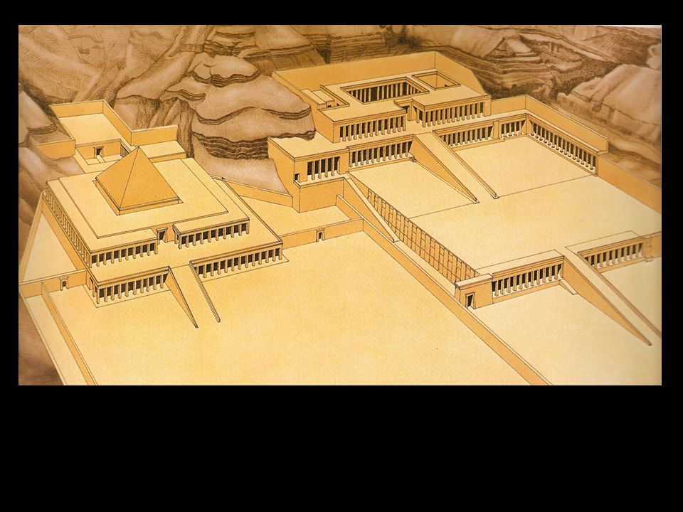 Templos funerarios de: Mentuhotep. (Imperio Medio