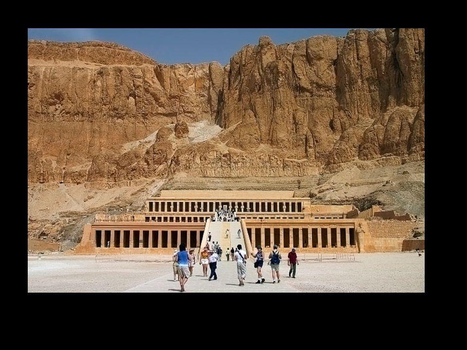 Templo funerario de Hatchepsut. Deir-el –Bahari. Imperio Nuevo