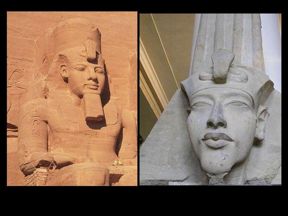 Esculturas de Ramses II. Abu Simbel. Imperio Nuevo. Dinastía XIX.