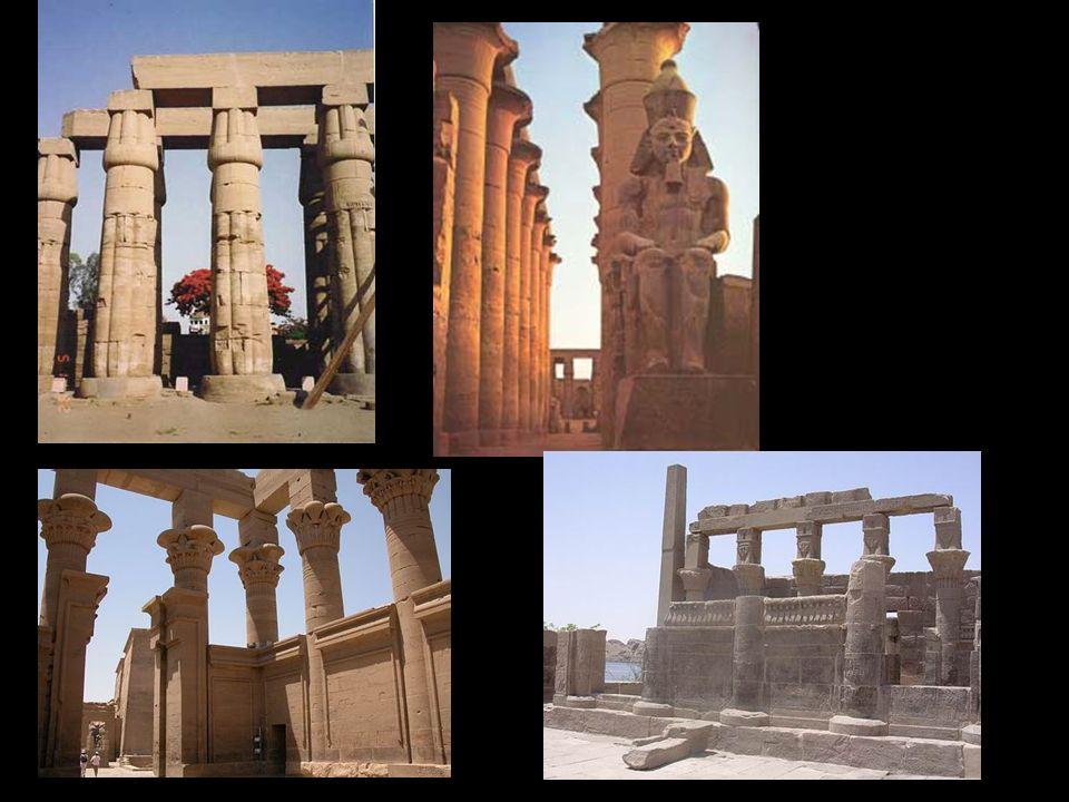 Peristilo de Ramses II. Templo de Luxor (Imperio Nuevo)