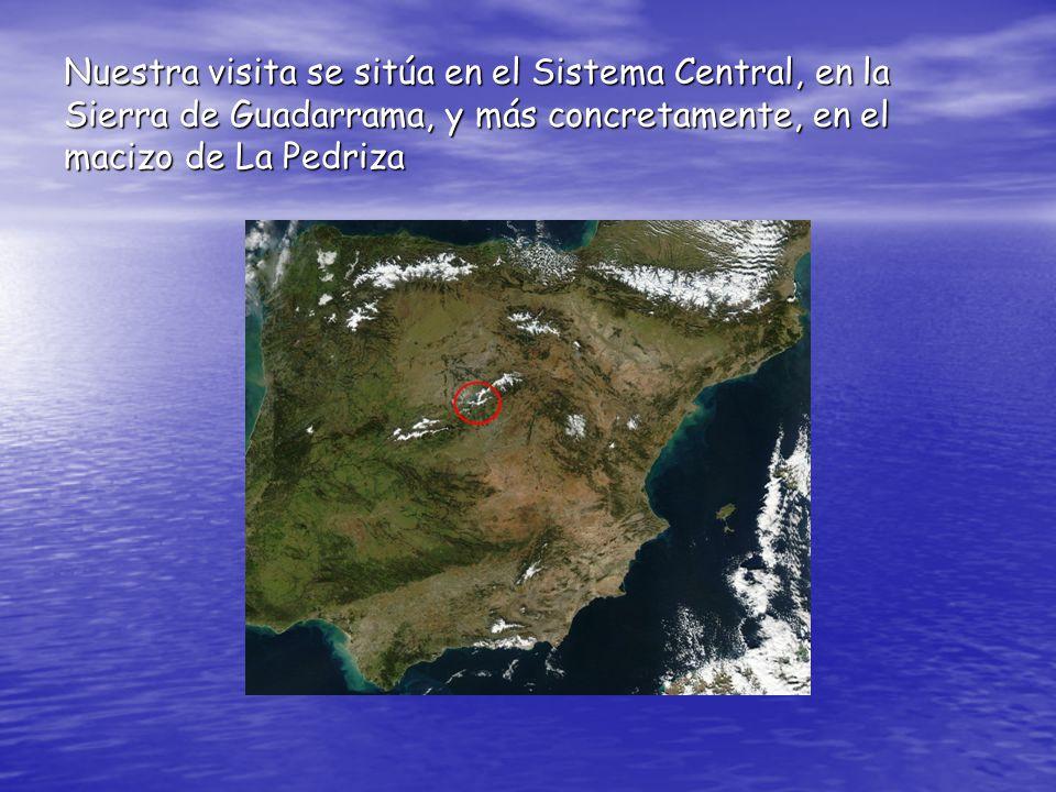 Nuestra visita se sitúa en el Sistema Central, en la Sierra de Guadarrama, y más concretamente, en el macizo de La Pedriza