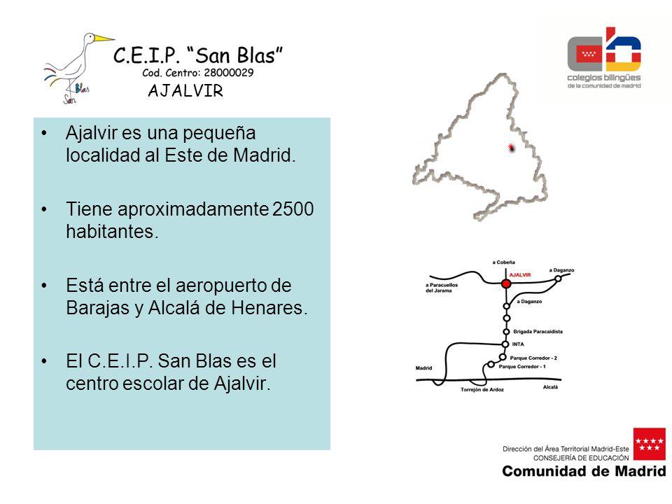 Ajalvir es una pequeña localidad al Este de Madrid.