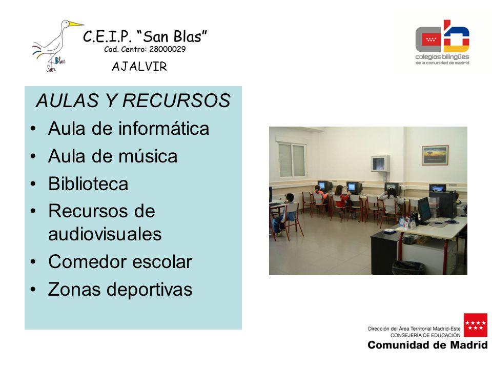 Recursos de audiovisuales Comedor escolar Zonas deportivas