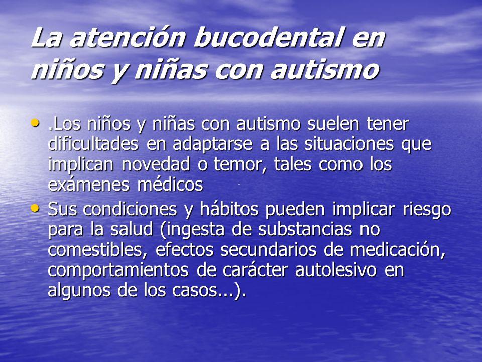 La atención bucodental en niños y niñas con autismo