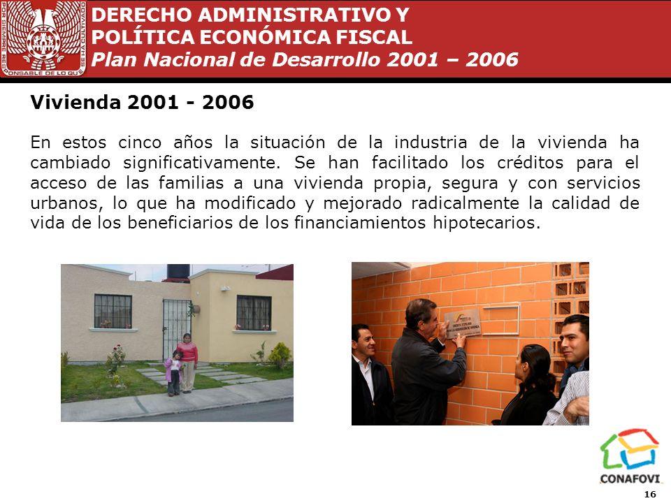Vivienda 2001 - 2006