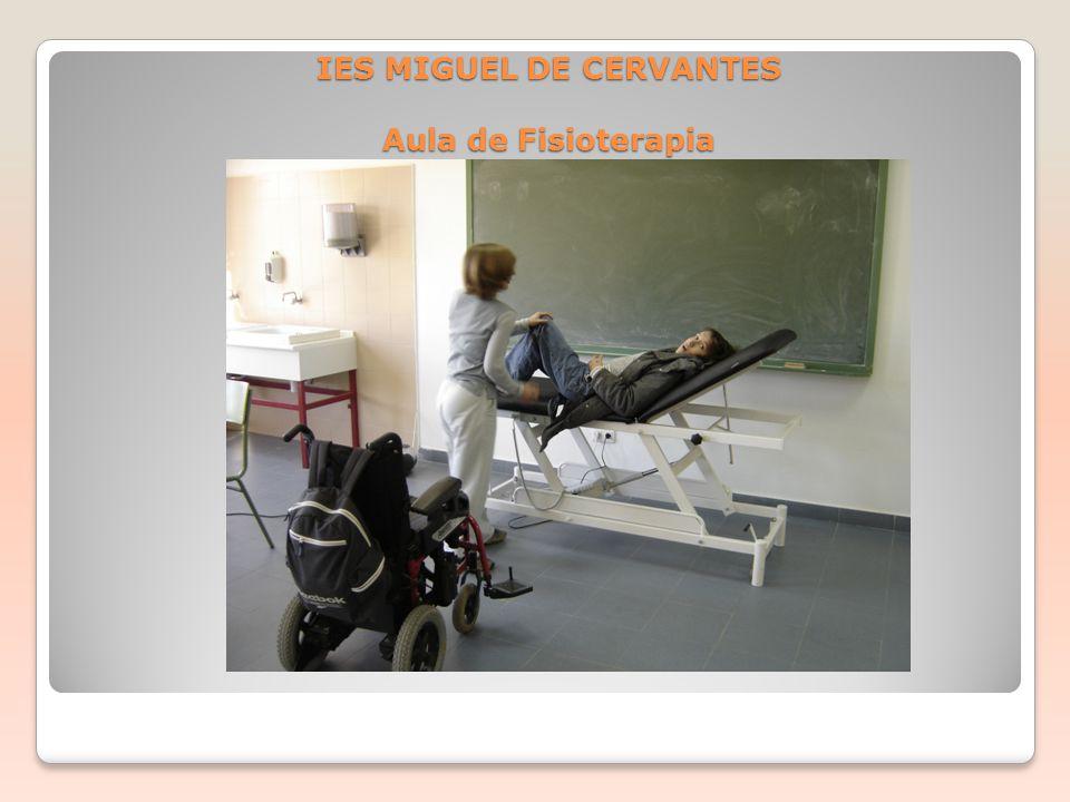 IES MIGUEL DE CERVANTES Aula de Fisioterapia