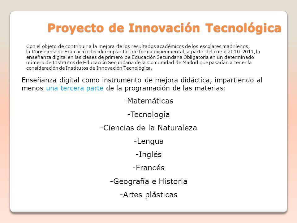 Proyecto de Innovación Tecnológica