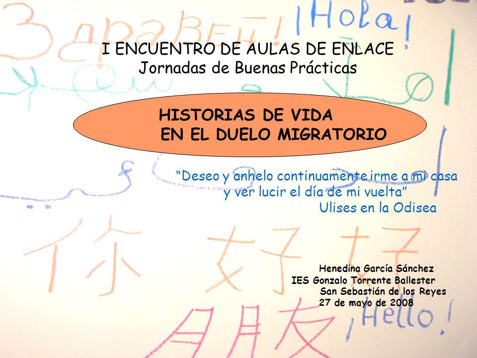 HISTORIAS DE VIDA EN EL DUELO MIGRATORIO