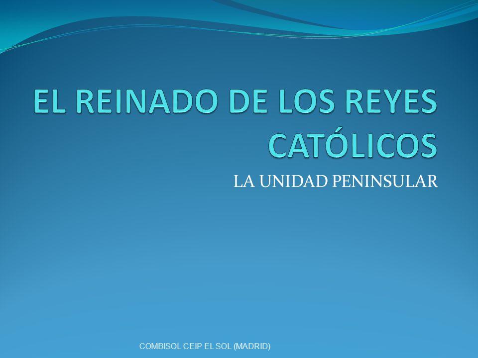 EL REINADO DE LOS REYES CATÓLICOS