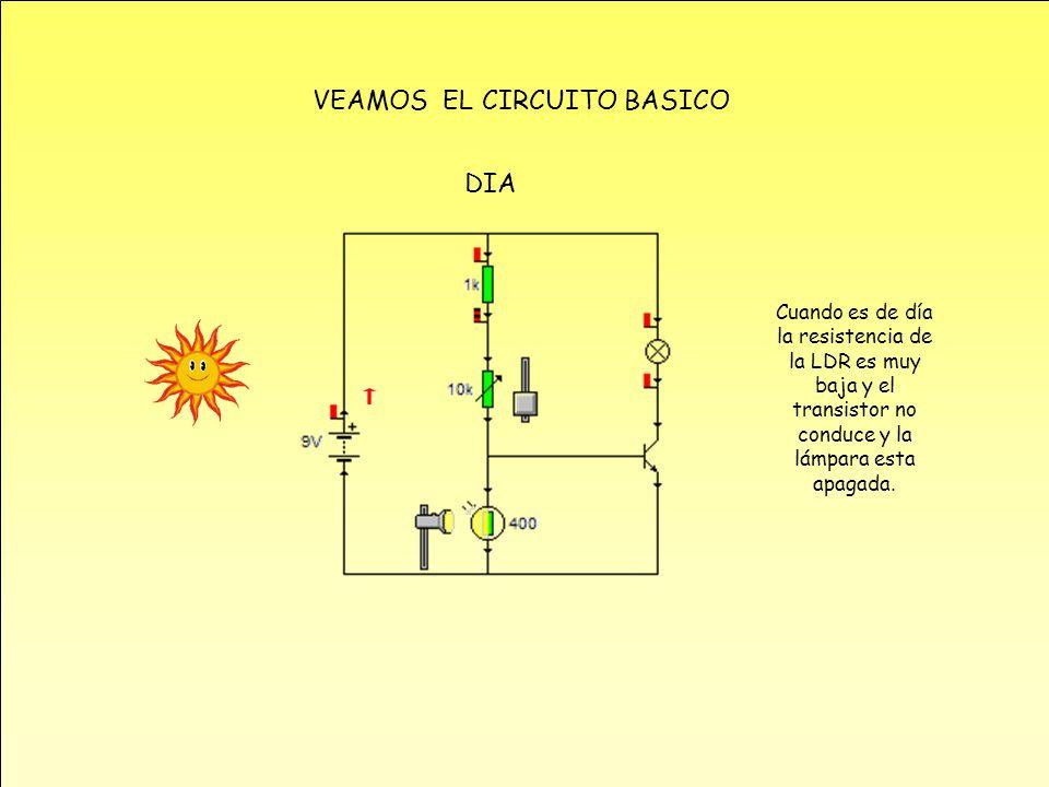 Circuito Basico : Practica interruptor crepuscular ppt descargar