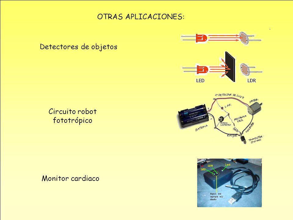 Circuito robot fototrópico