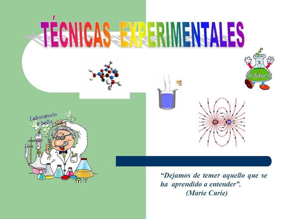 TÉCNICAS EXPERIMENTALES