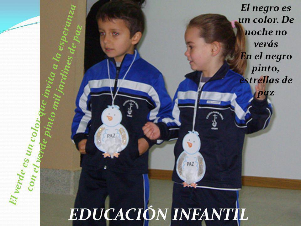 EDUCACIÓN INFANTIL El negro es un color. De noche no verás