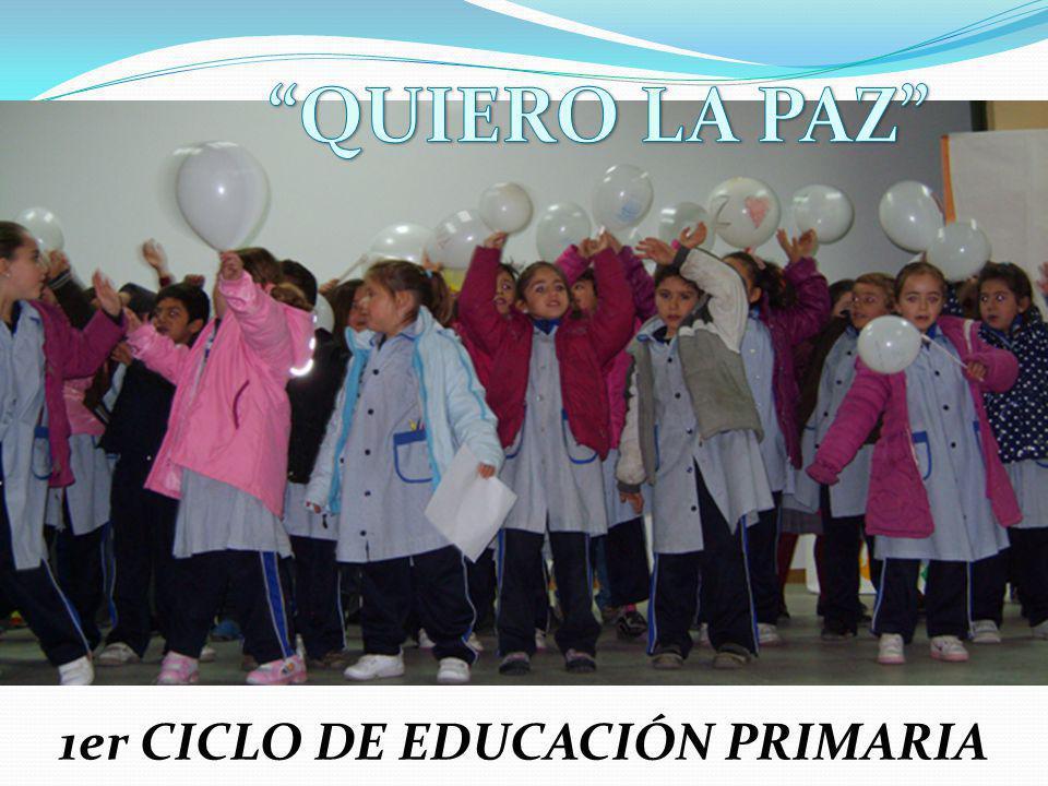 1er CICLO DE EDUCACIÓN PRIMARIA