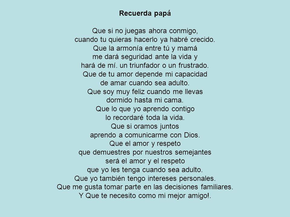 Recuerda papá