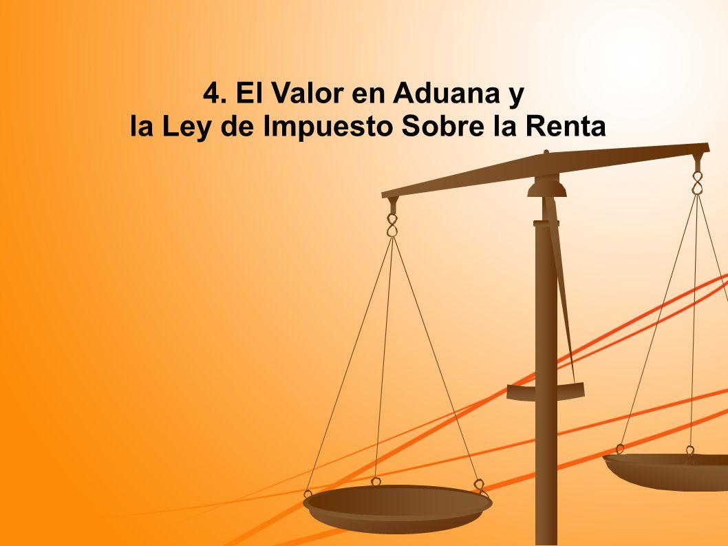 la Ley de Impuesto Sobre la Renta