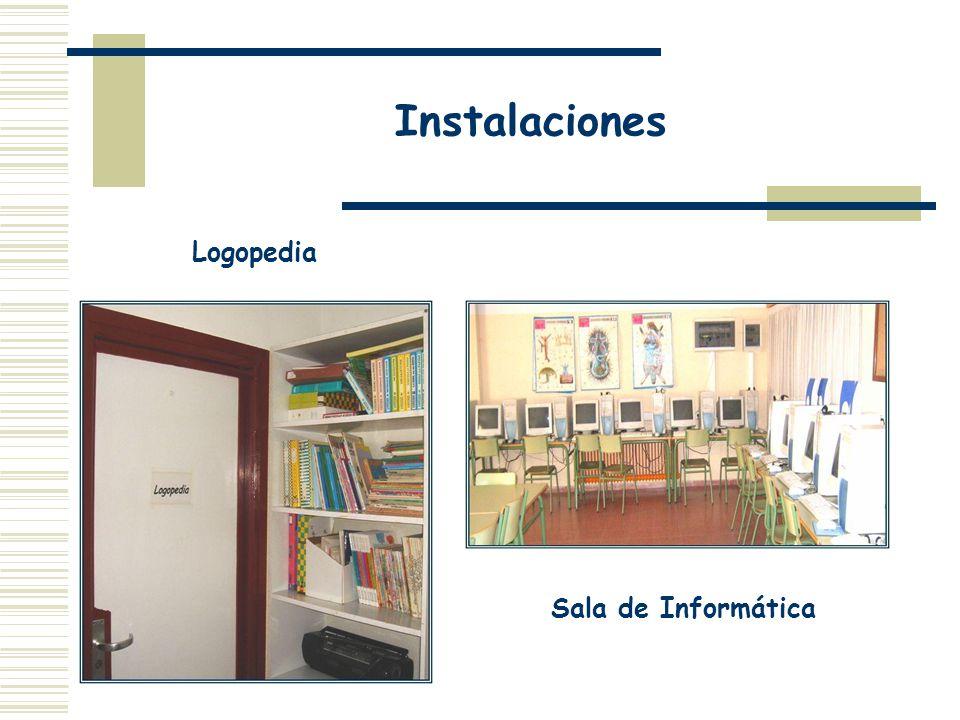 Instalaciones Logopedia Sala de Informática