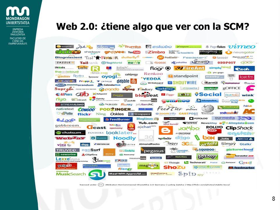 Web 2.0: ¿tiene algo que ver con la SCM