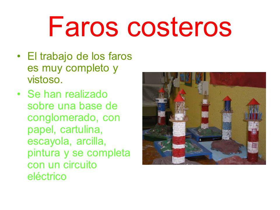 Faros costeros El trabajo de los faros es muy completo y vistoso.