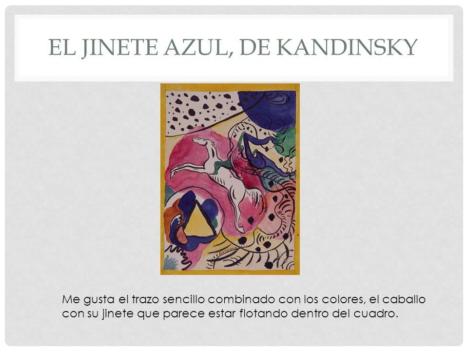 El jinete azul, de kandinsky