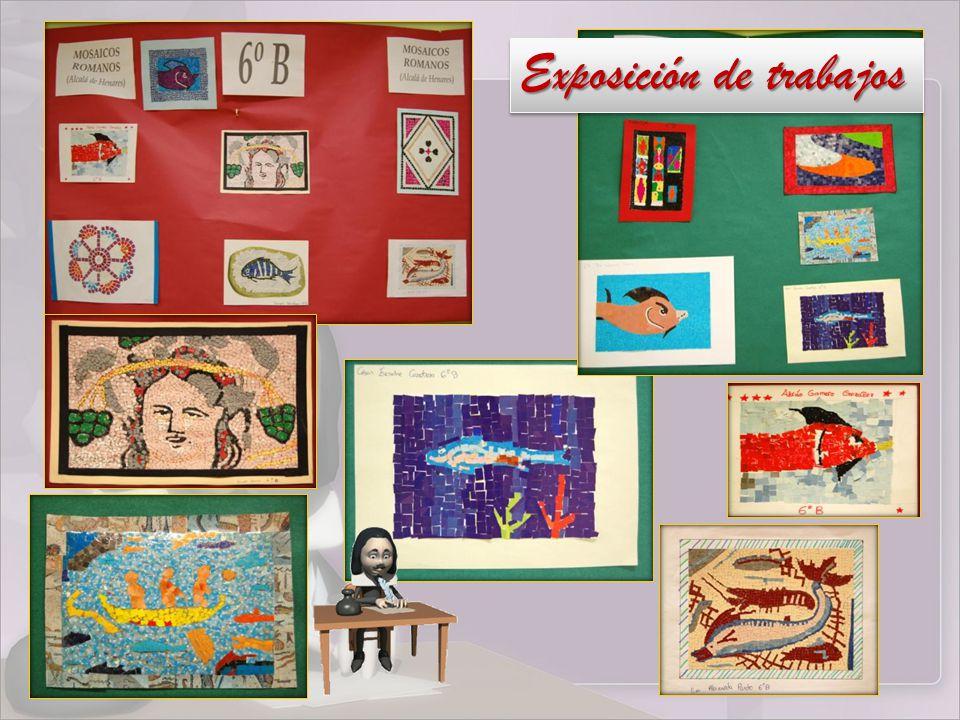Exposición de trabajos