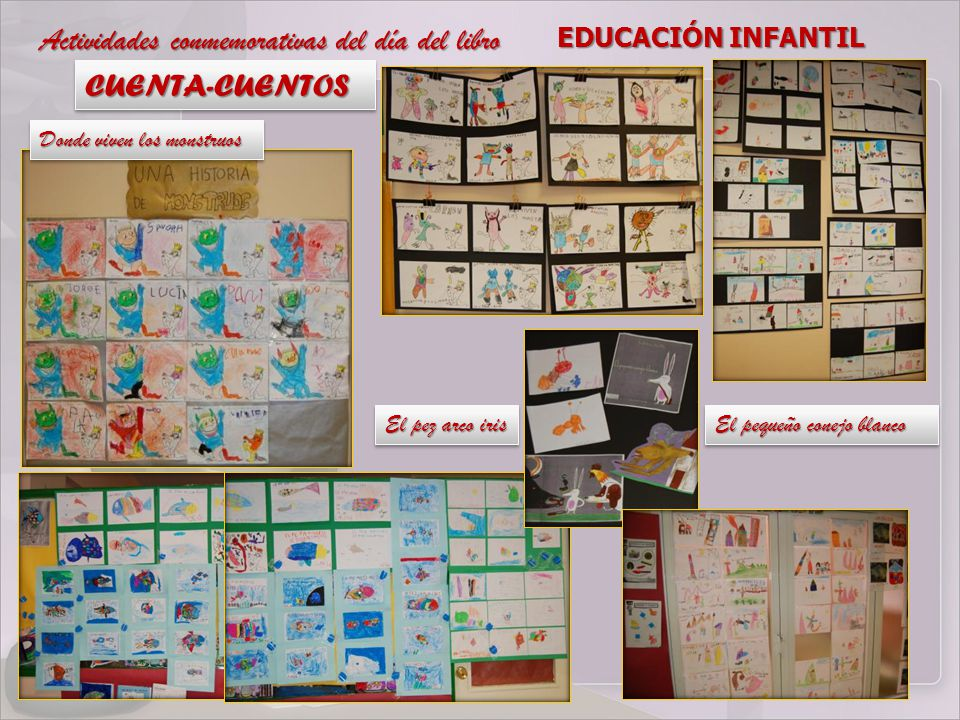 Actividades conmemorativas del día del libro CUENTA-CUENTOS