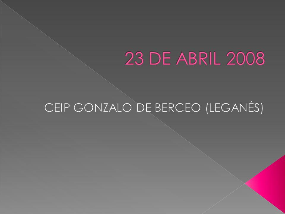 CEIP GONZALO DE BERCEO (LEGANÉS)