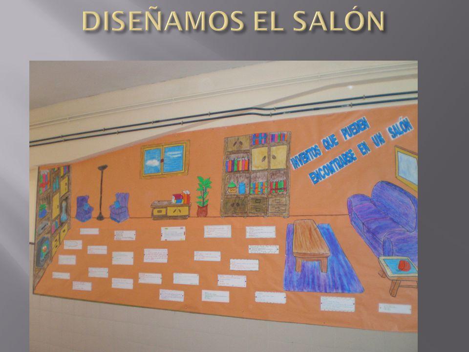 DISEÑAMOS EL SALÓN