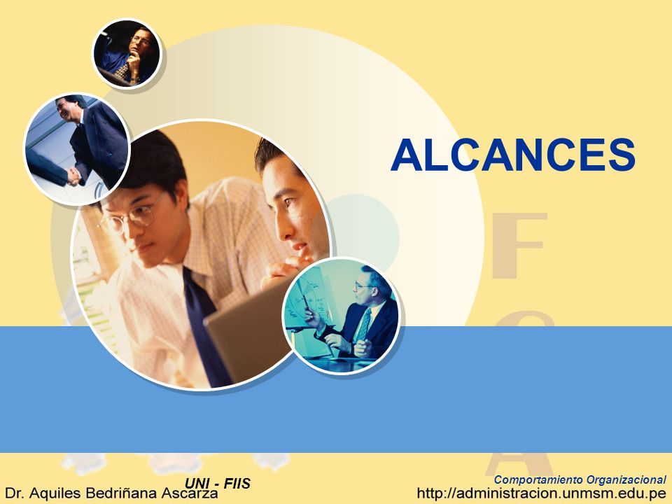 ALCANCES Comportamiento Organizacional