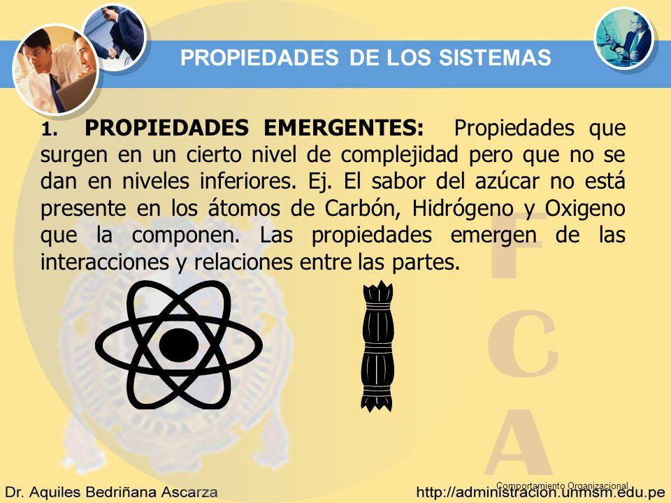 PROPIEDADES DE LOS SISTEMAS