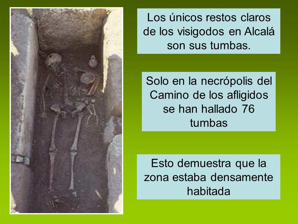 Los únicos restos claros de los visigodos en Alcalá son sus tumbas.