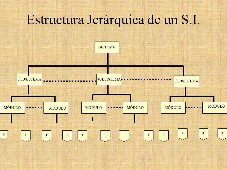 Estructura Jerárquica de un S.I.