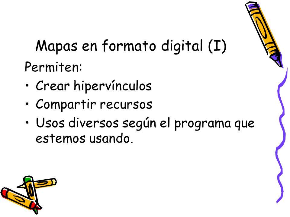 Mapas en formato digital (I)