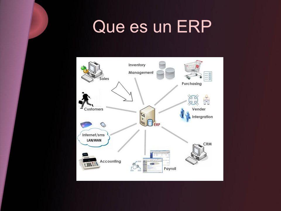 Que es un ERP