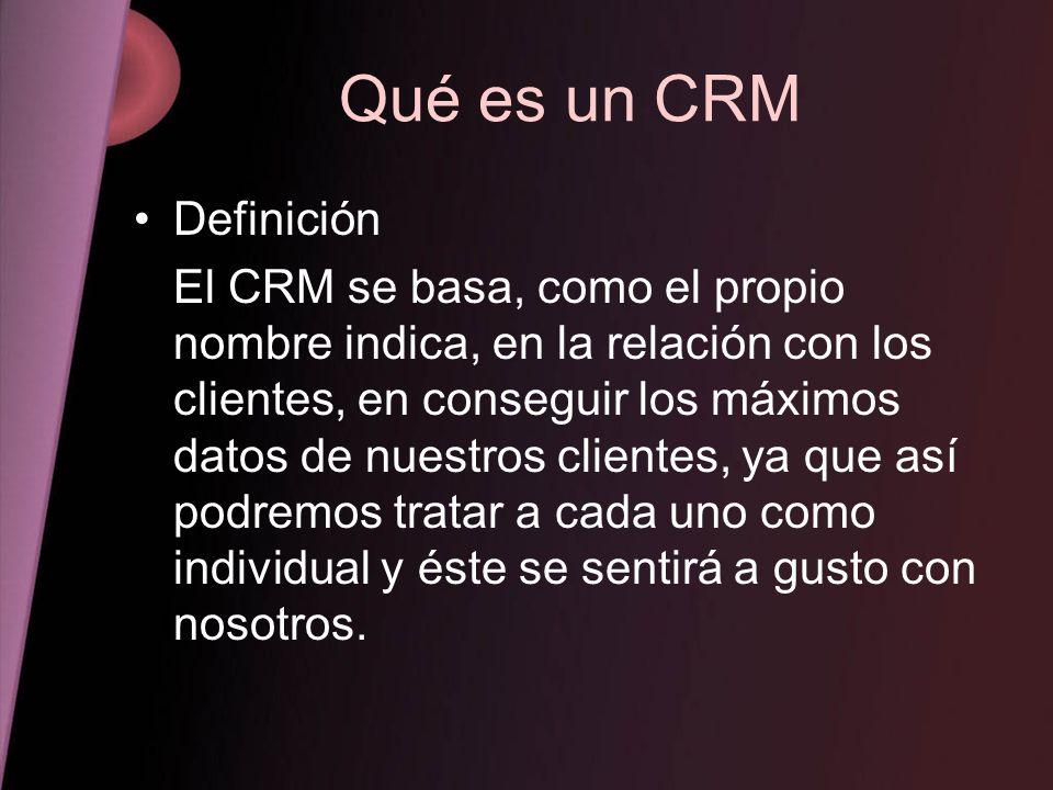 Qué es un CRM Definición