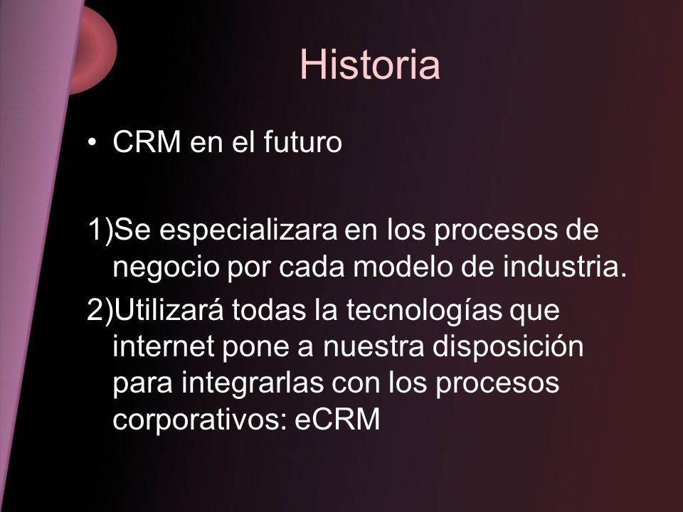 Historia CRM en el futuro