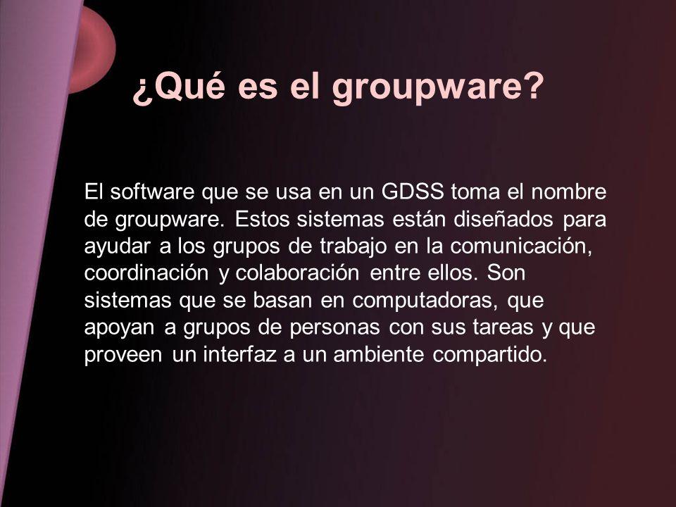 ¿Qué es el groupware