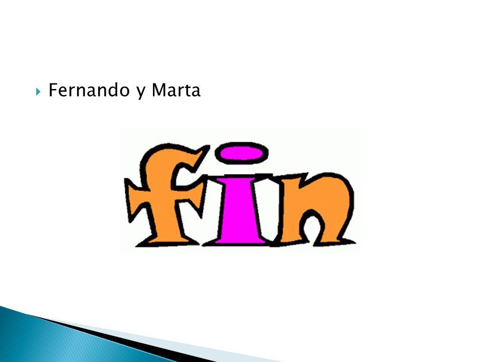 Fernando y Marta