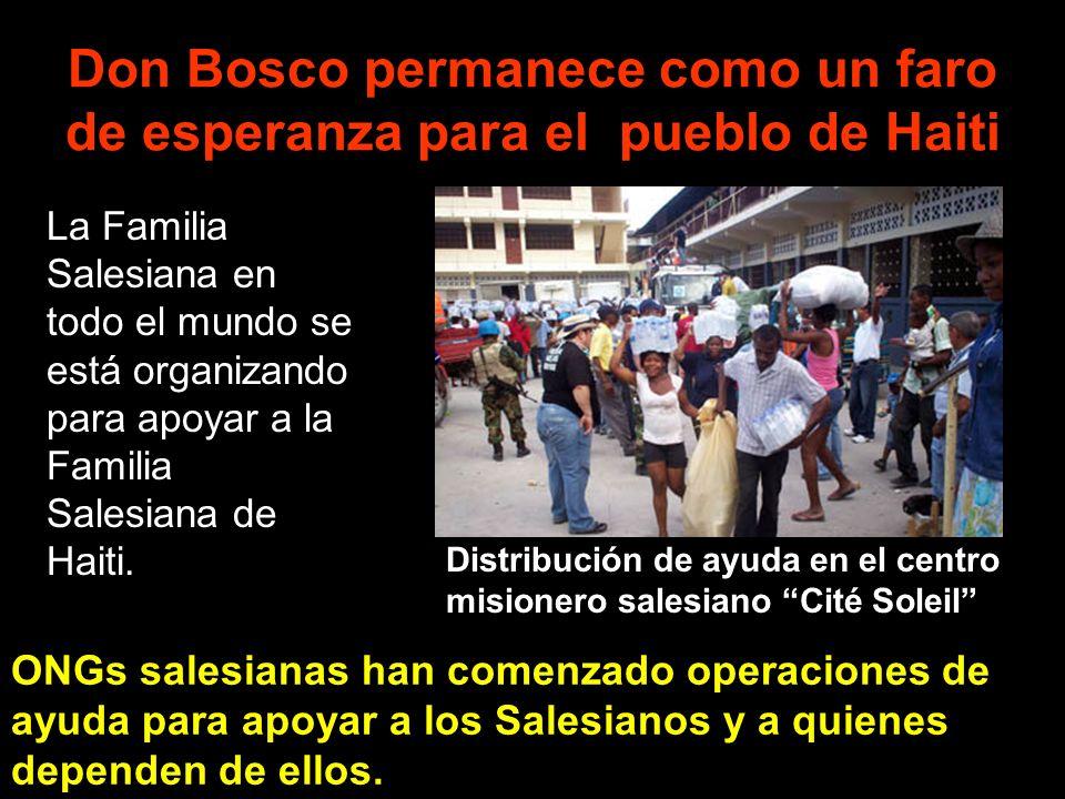 Don Bosco permanece como un faro de esperanza para el pueblo de Haiti