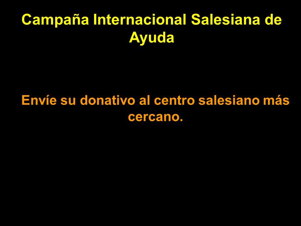 Campaña Internacional Salesiana de Ayuda